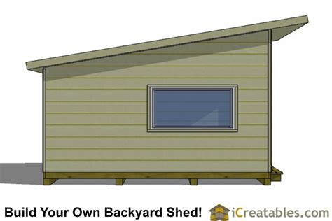 16x12 Shed Plans Free by 16x12 Modern Studio Shed Plans