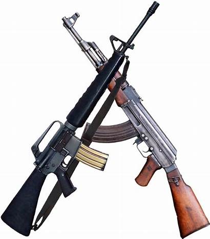 Assault M16 Rifle Ak Crossed Ak47 47