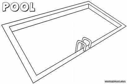 Pool Coloring Pages Pool1