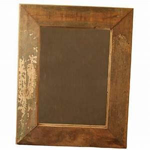Miroir A Suspendre : miroir suspendre bois recycl aspect vieilli 60x49 d coration ~ Teatrodelosmanantiales.com Idées de Décoration