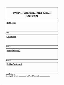 preventive action form 6 free documents in word pdf With preventive action plan template