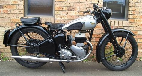 1951 Bsa C10 250cc Side Valve
