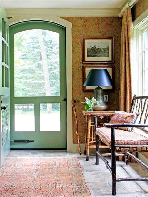 unexpected ways  create  cozy entry  inspired room