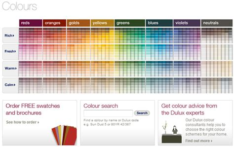 dulux colour charts color charts waterproofing africa