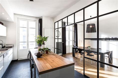 loft cuisine travaux de rénovation de cuisine dans un loft parisien