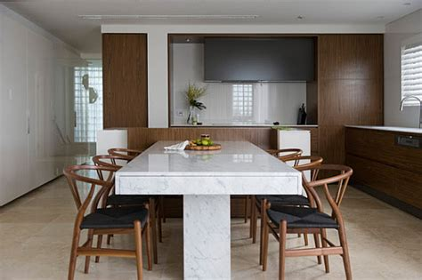 marble dining table decoist