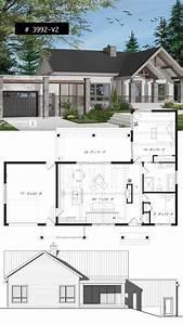 Open, Concept, House, Plans, 2021
