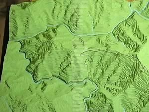 El Portal Scale Model - El Portal Topographic Model ...