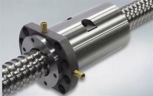 NSK - Ball Screws with Nut Cooling