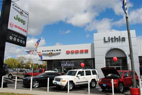 Dodge Chrysler Dealers by Lithia Chrysler Jeep Dodge Ram Of Billings Billings Mt