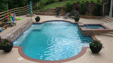 travertine stamped concrete  brick edge pool google