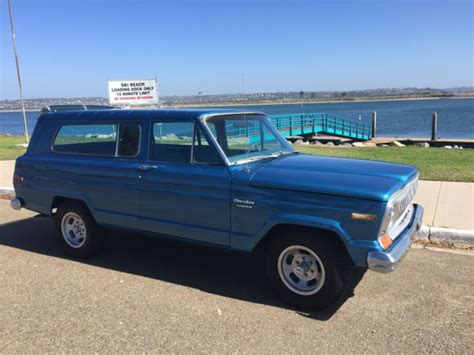 jeep cherokee chief blue jeep cherokee chief for sale photos technical