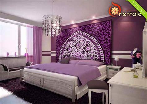 chambre deco orientale t 234 te de lit orientale et porte marocaine