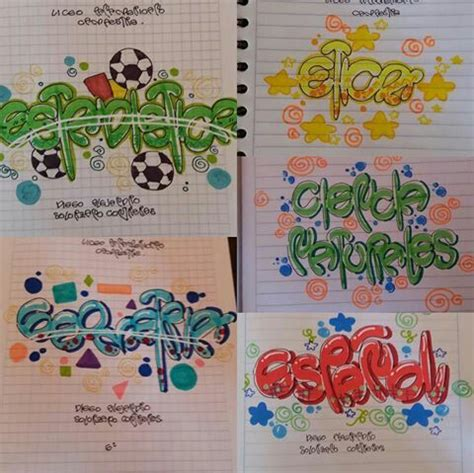 cuadernos marcados portadas de cuadernos
