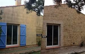 Enduit Exterieur Avant Peinture : crepi facade maison ~ Premium-room.com Idées de Décoration