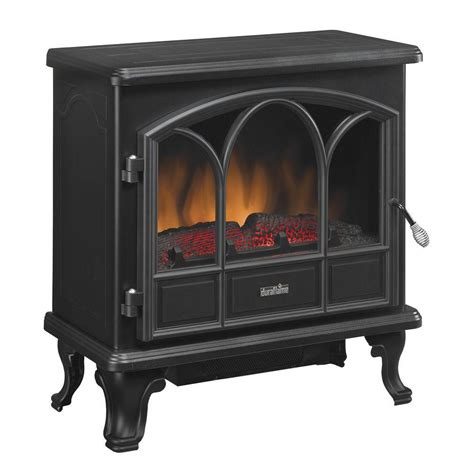 electric fireplace heater home depot duraflame 750 series 400 sq ft electric stove dfs 750 1
