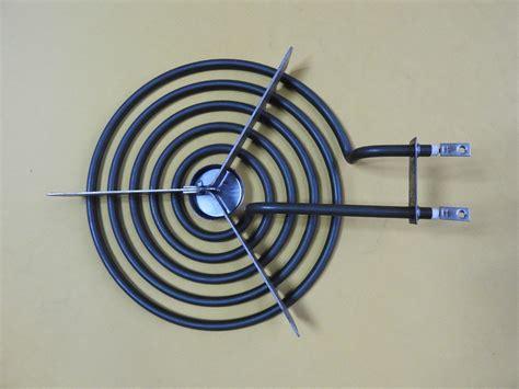 custom  tubular heater electric flexible coil tube heating element