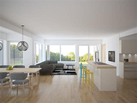 modern house plan oz  narrow lot   level house plan