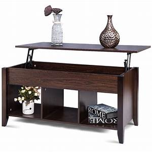 Giantex, Lift, Top, Coffee, Table, With, Hidden, Compartment, Storage, Shelf, Modern, Wood, Living, Room