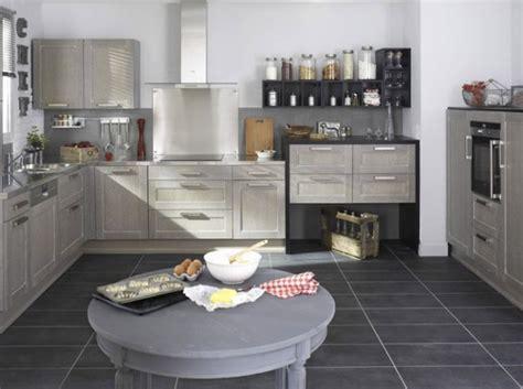 idee deco pour cuisine d 233 coration pour cuisine grise exemples d am 233 nagements