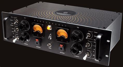 electronaut  dual chanel tube microphone pre amp