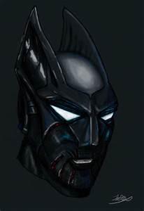 William D. Britton: Batman Beyond Mask Concept