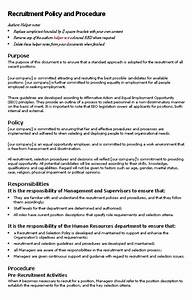 Company Policies And Procedures Template Policies And Procedures Template Cyberuse