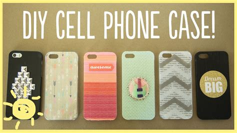 Diy  Cell Phone Case Youtube