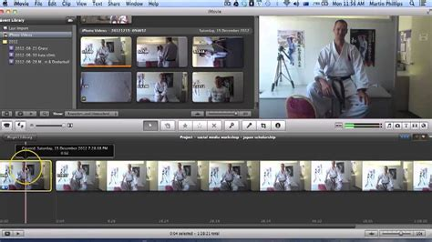 How to trim a video with imovie - YouTube