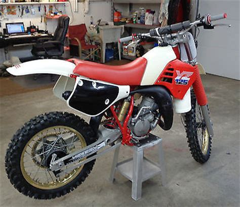 restored vintage motocross bikes for sale 1986 yamaha yz 125 motorcycles for sale