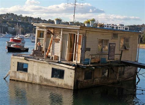 Old Boat House For Sale by Chance To Give Rundown Houseboat A New Lease On Life
