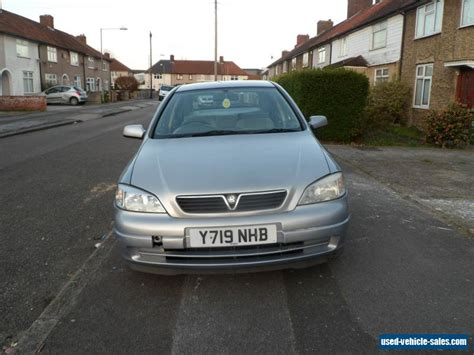 vauxhall astra 2001 2001 vauxhall astra envoy 8v auto for sale in the united