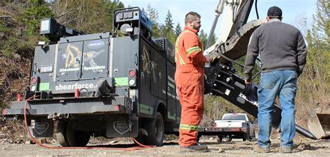 excavator attachments  sale shearforce equipment
