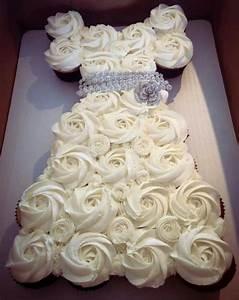 Bridal shower cupcake idea craft ideas pinterest for Wedding shower cupcakes