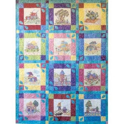 periwinkle lane crayola crayon color  embroidery quilt