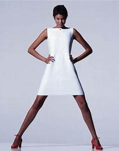 andre courreges brought us the triangle shaped shift dress With robe style courrege