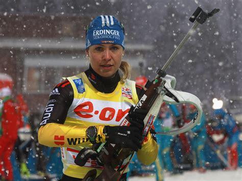 biathlon star magdalena neuner ruecktritt zum saisonende