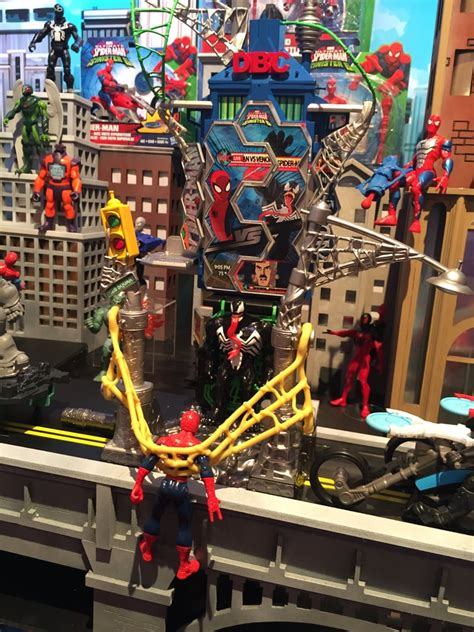 spiderman play sets    brand  toys