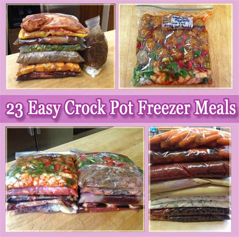 meals in a crockpot freezer crock pot meals on pinterest freezers meals and freezer cooking