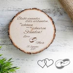 Geschenke Für Hochzeit : individuelle baumscheibe zur hochzeit bleibt verbunden ~ A.2002-acura-tl-radio.info Haus und Dekorationen