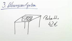 Prozentsatz Berechnen Online : prozentsatz prozentwert und grundwert mathematik online lernen ~ Themetempest.com Abrechnung
