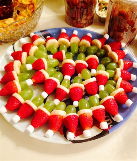 grinch fruit kabobs i made quot you re like martha stewarts