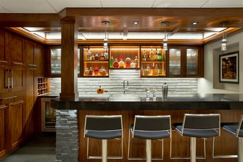 Bar Designs Photos by 16 Transitional Home Bar Designs To Entertain Your