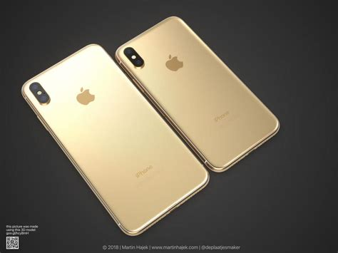 iphone concept gold color shown renders