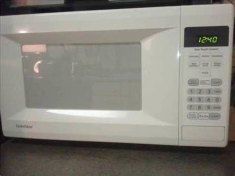 cu ft goldstar microwave firm  sale  baltimore maryland classified