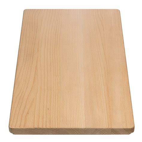 20 X 20 Stainless Steel Sink by Blanco Wood Chopping Board Bl218313