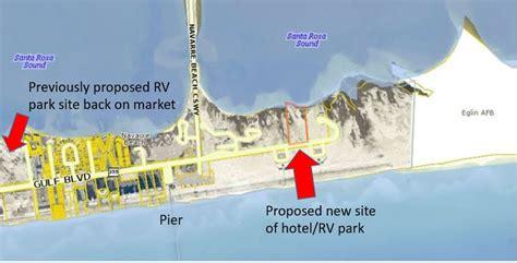 hotel  rv park eyed  navarre beach south santa