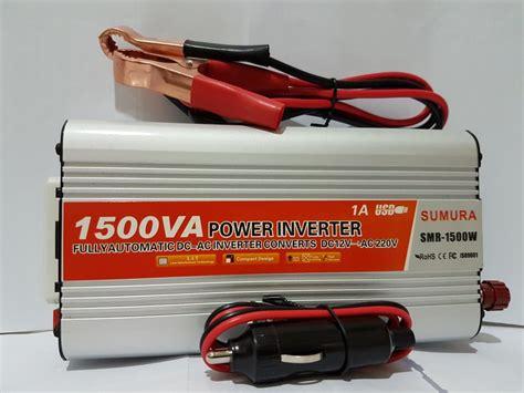 jual power inverter 1500 w dc 12v ke ac 220v merk sumura di lapak dunia teknik steven kristian