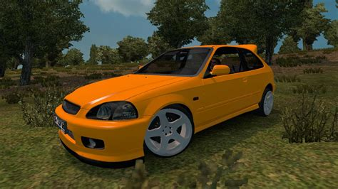 Honda Civic Hatchback Modification by Honda Civic Hatchback V2 Car Mod Truck Simulator 2 Mods