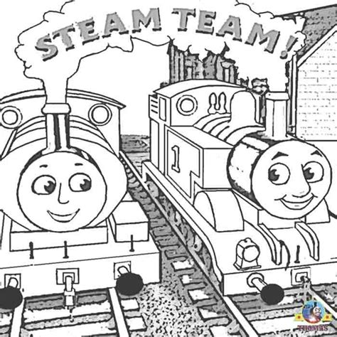 Kleurplaat Percy De Trein by Tank Engine Percy And The Friends Coloring